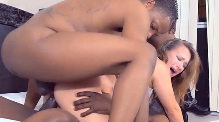 Interracial MILF Gangbang : Part 7