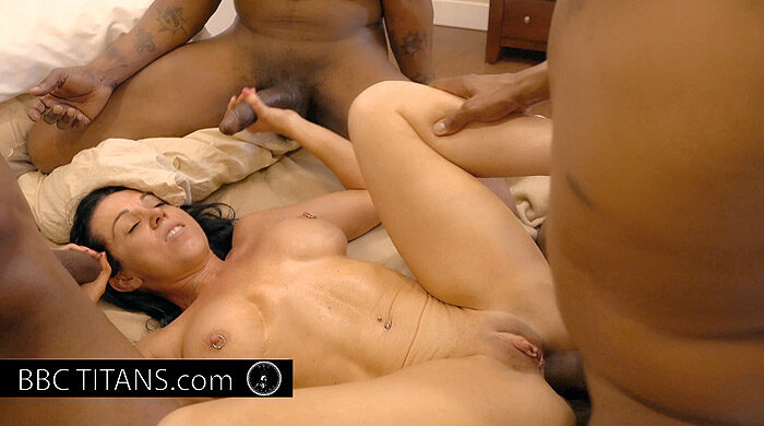 Interracial MILF Gangbang : Part 9