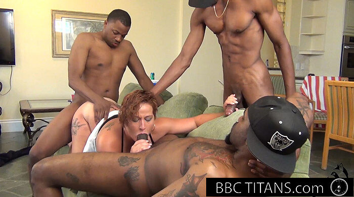 Interracial MILF Gangbang : Part 8