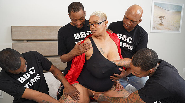 Ebony BBW Gangbang : Part 2