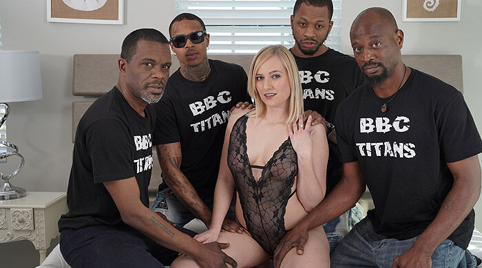Interracial BBC Gangbang : Part 4