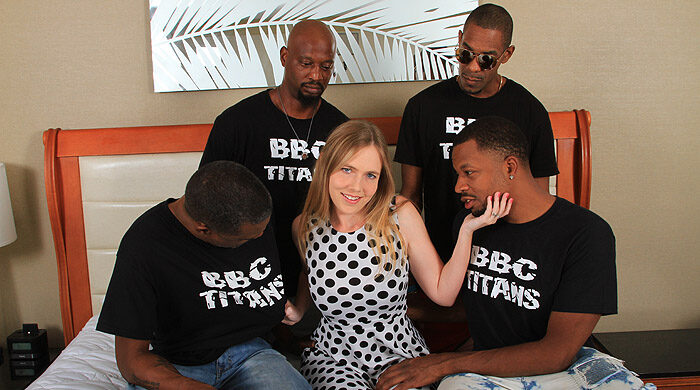 Interracial BBC Gangbang : Part 3