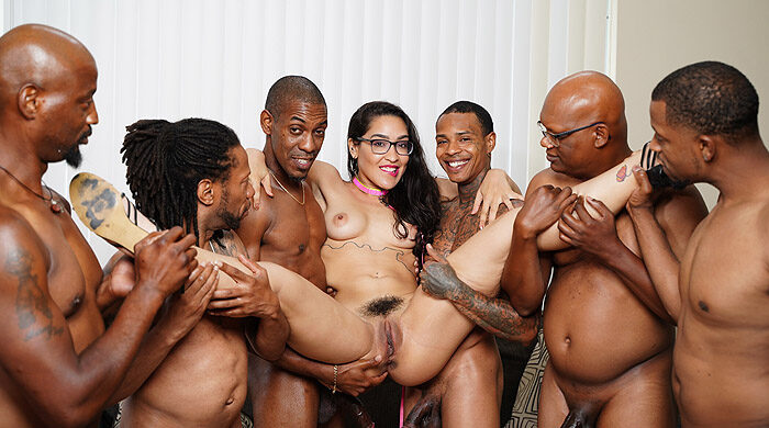 Ebony Gangbang : Part 4
