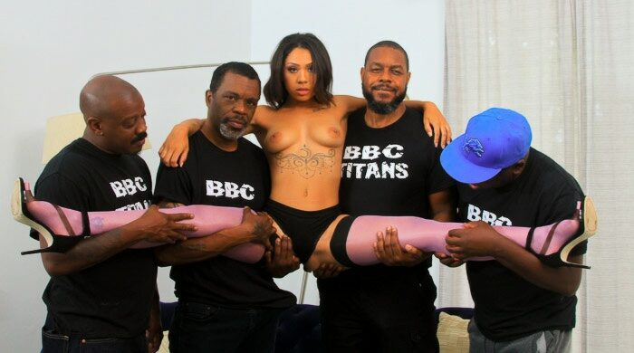 Ebony Gangbang : Part 5
